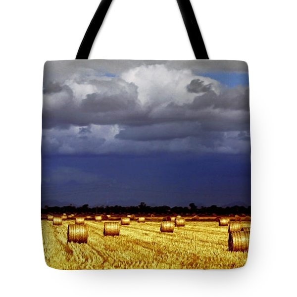 Rolling On Tote Bag by Holly Kempe