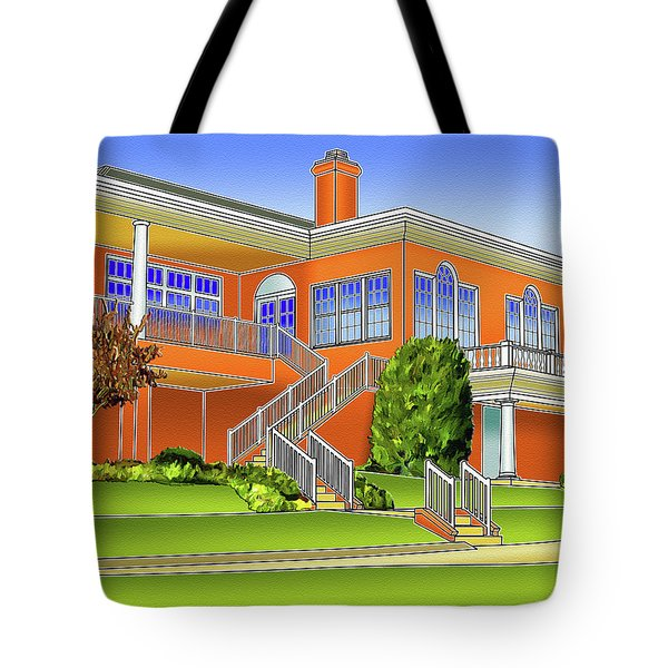 Rolling Road Golf Club Tote Bag by Stephen Younts