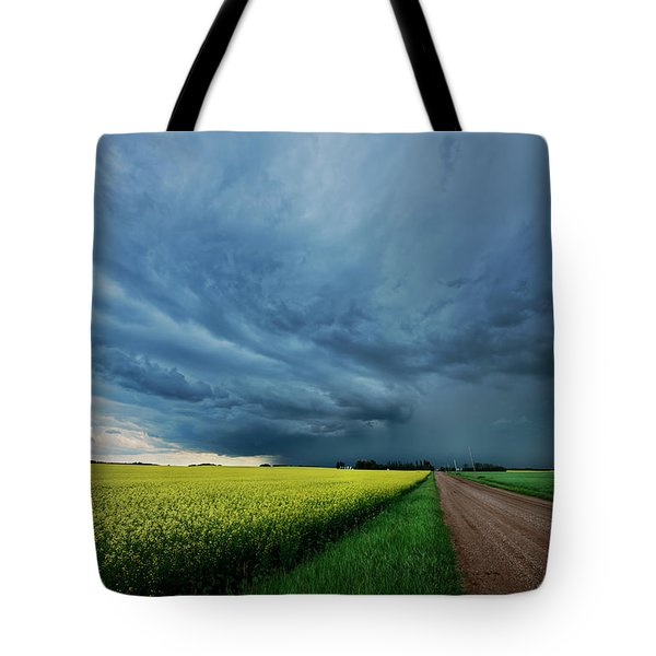 Rolling Storm Tote Bag