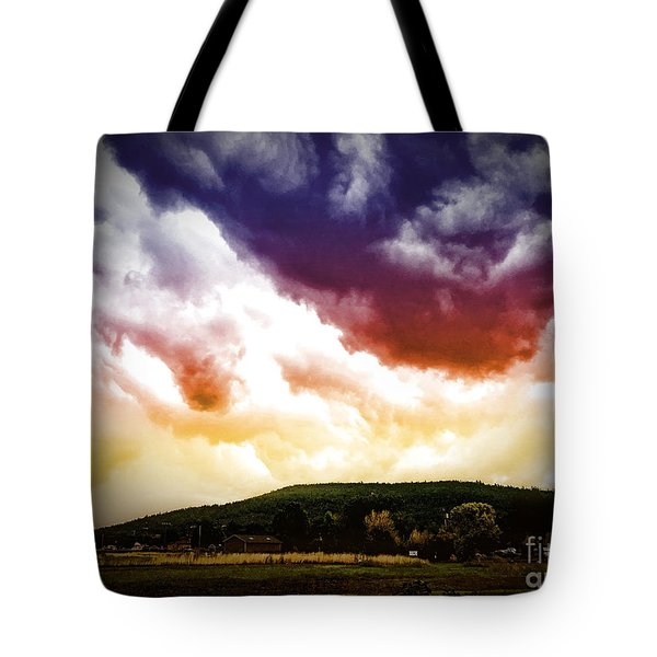 Tote Bag featuring the photograph Rolling Thunder by Beauty For God