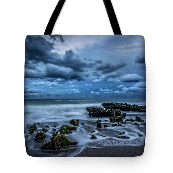 Tote Bag featuring the photograph Rolling Thunder by Debra and Dave Vanderlaan