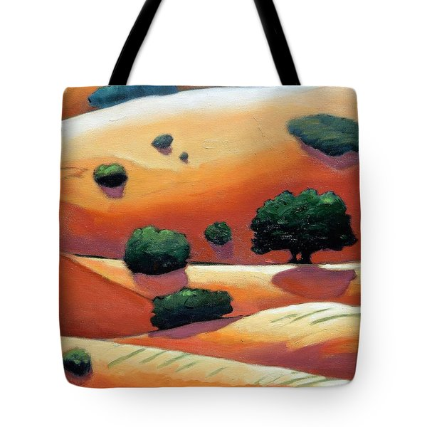 Rolling Trip Panel IIi Tote Bag by Gary Coleman