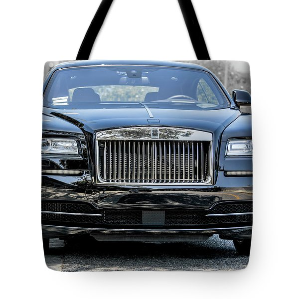 Rolls - Royce Wraith Coupe 2016 Tote Bag