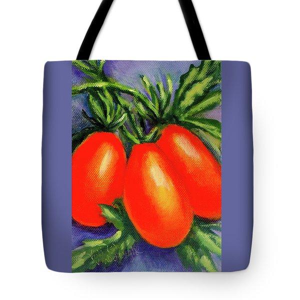 Roma Tomatoes Tote Bag