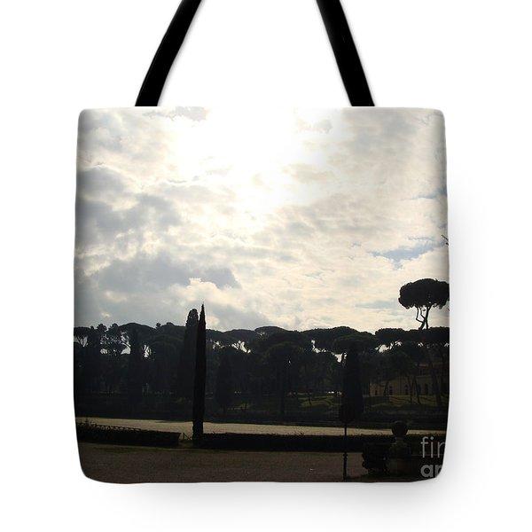 Roma, Villa Borghese Tote Bag