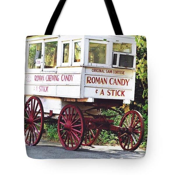 Roman Candy Tote Bag