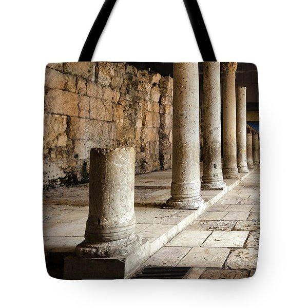 Roman Cardo Tote Bag