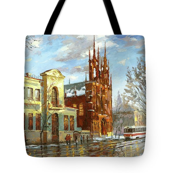 Roman Catholic Church Tote Bag