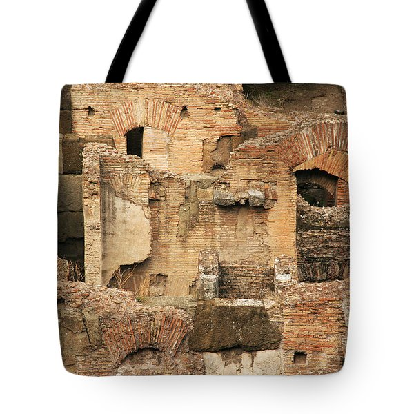 Tote Bag featuring the photograph Roman Colosseum by Silvia Bruno