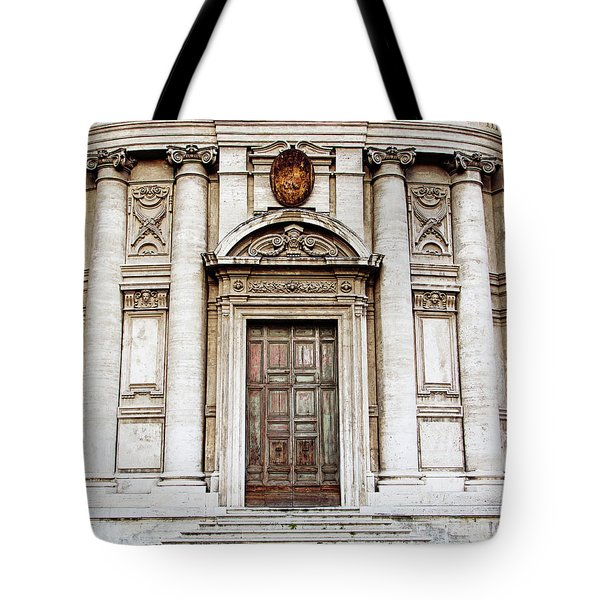Roman Doors - Door Photography - Rome, Italy Tote Bag by Melanie Alexandra Price