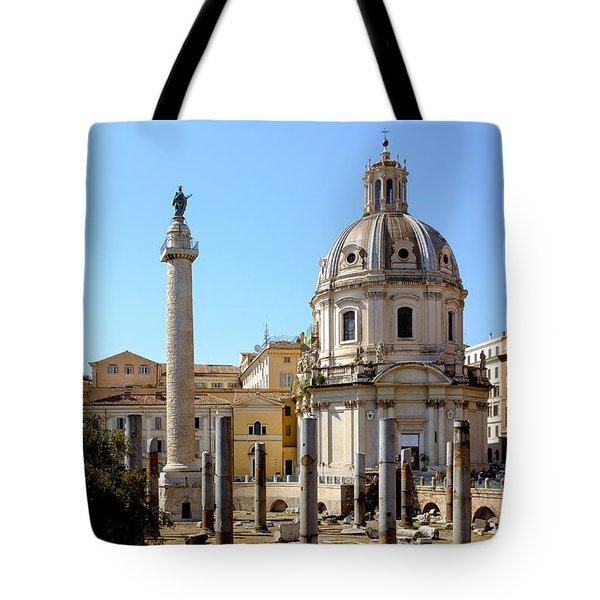 Roman Forum Tote Bag by Edward Fielding