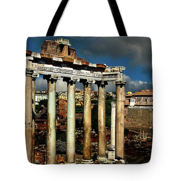 Roman Forum Tote Bag by Harry Spitz