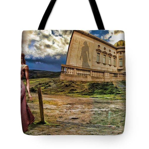 Roman Goddess Tote Bag by Blake Richards