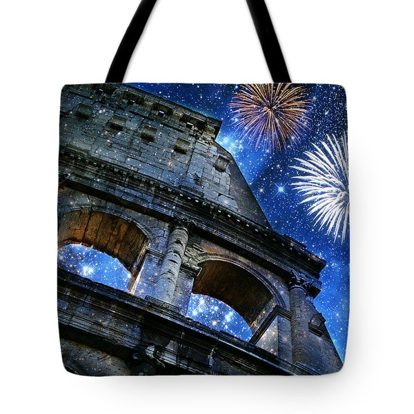 Roman Holiday Tote Bag by Aurelio Zucco