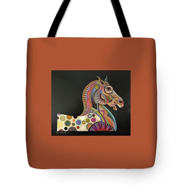 Roman Horse Tote Bag