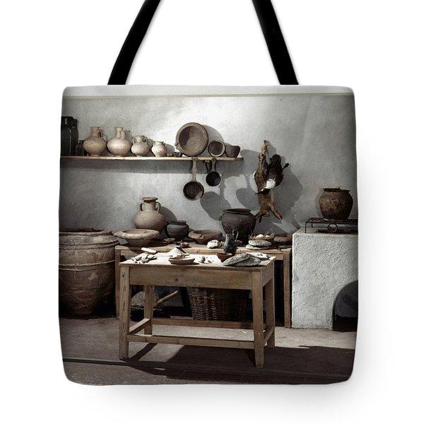 Roman Kitchen, 100 A.d Tote Bag by Granger