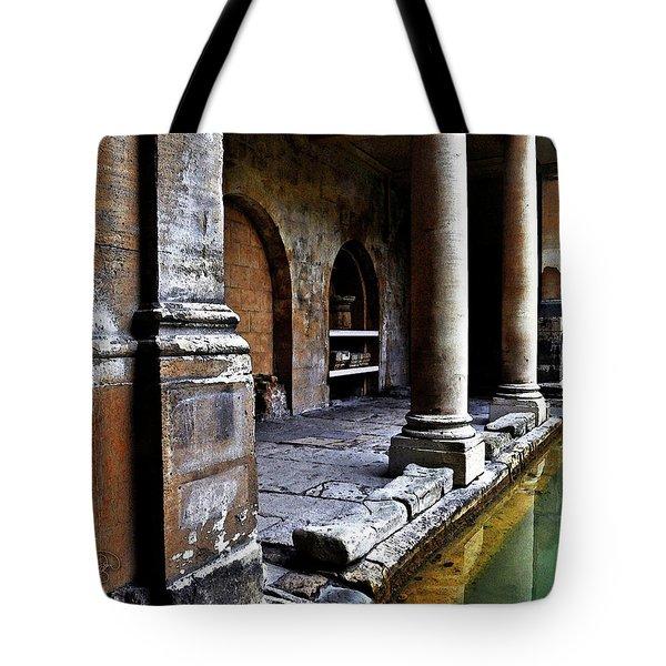Roman Pillars  Tote Bag