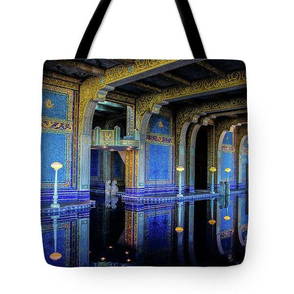 Roman Pool Tote Bag