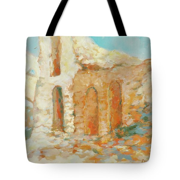 Roman Relicts 14 Tote Bag by Ekaterina Mortensen