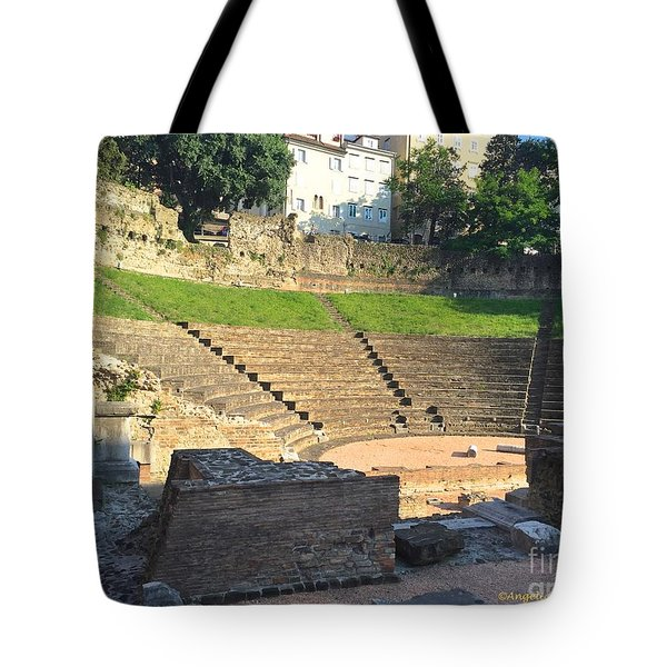 Roman Theater Tote Bag