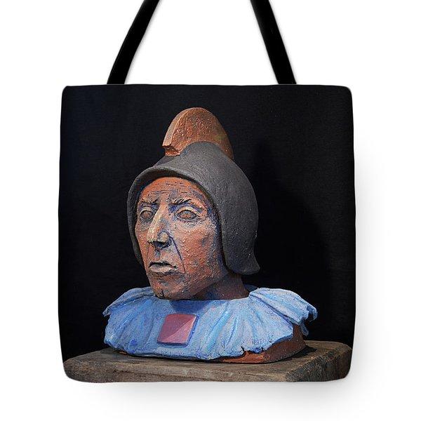 Roman Warrior Roemer - Roemer Nettersheim Eifel - Military Of Ancient Rome - Bust - Romeinen Tote Bag