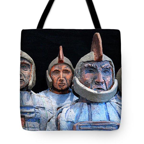 Roman Warriors - Bust Sculpture - Roemer - Romeinen - Antichi Romani - Romains - Romarere Tote Bag