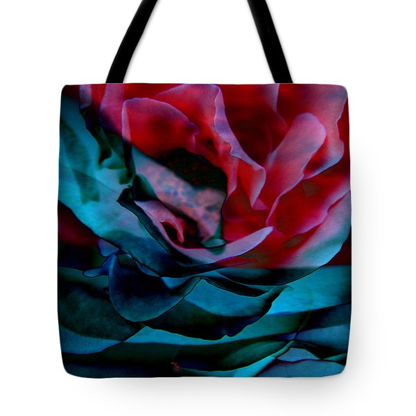 Romance - Abstract Art Tote Bag by Jaison Cianelli