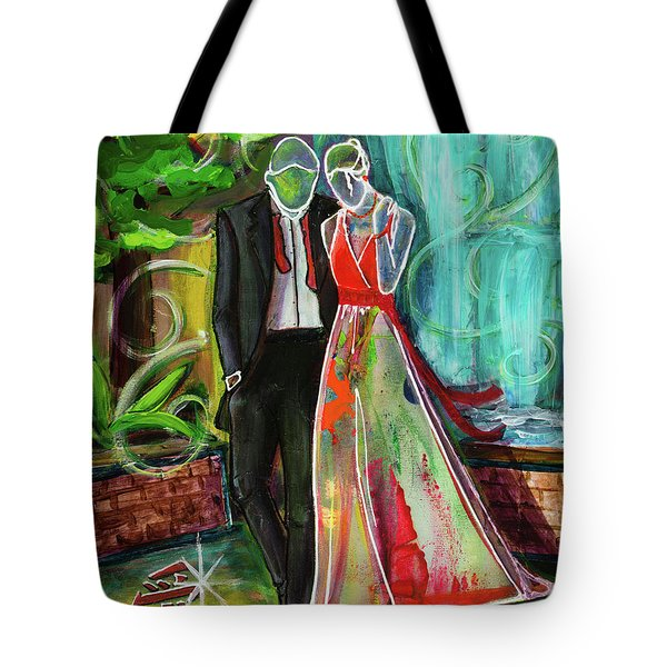 Romance Each Other Tote Bag
