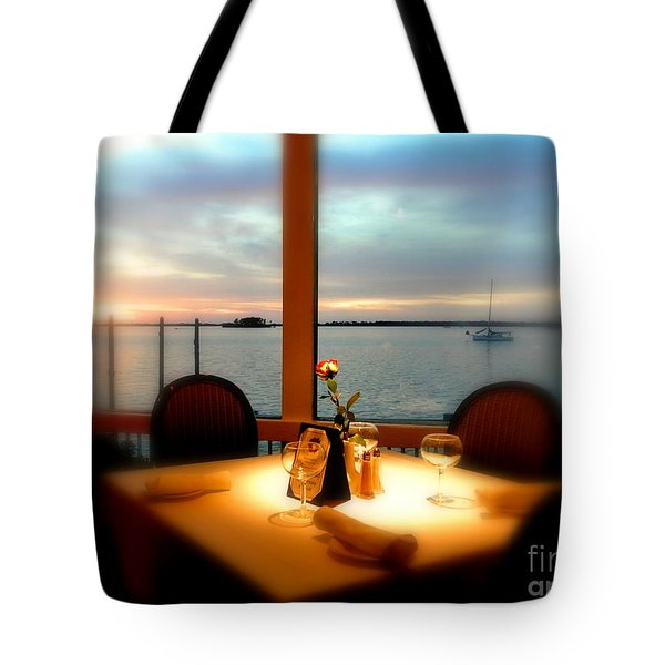 Tote Bag featuring the photograph Romance by Elfriede Fulda