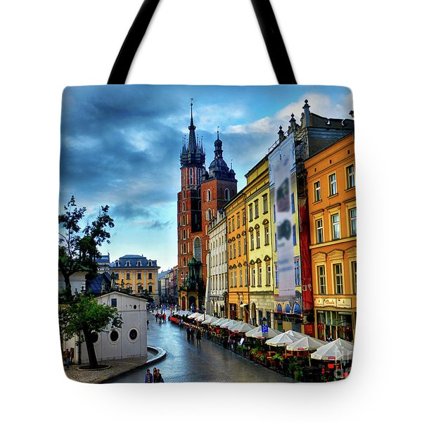 Romance In Krakow Tote Bag