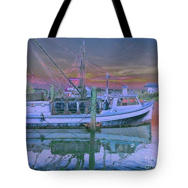 Romance Of The Sea Tote Bag