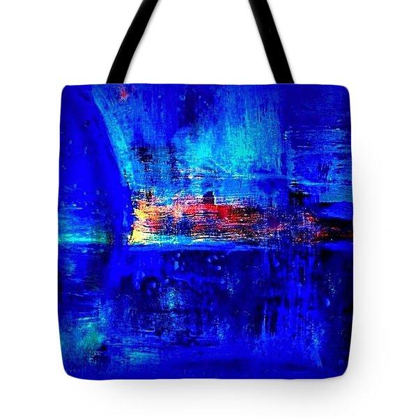Romancing The Arctic Dedicated  Tote Bag