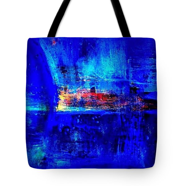 Romancing The Arctic Dedicated  Tote Bag