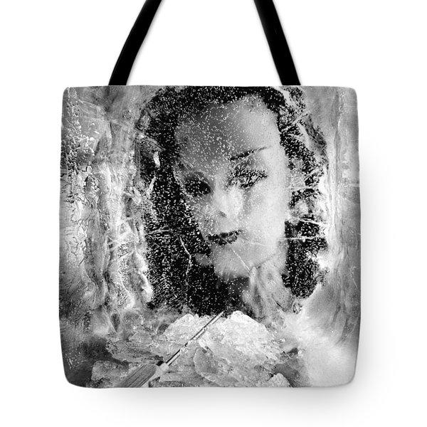 Romancing The Ice Princess Tote Bag