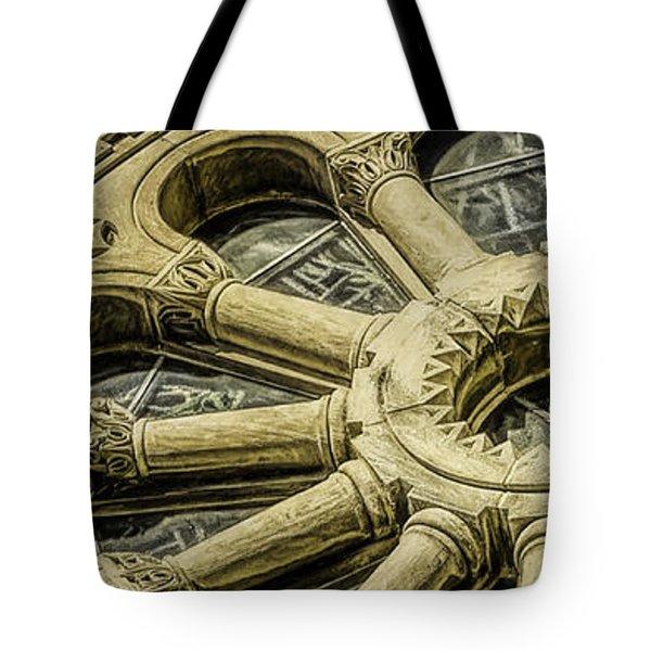 Romanesque Wheel Tote Bag