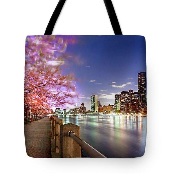 Romantic Blooms Tote Bag