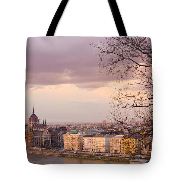Romantic Budapest Tote Bag