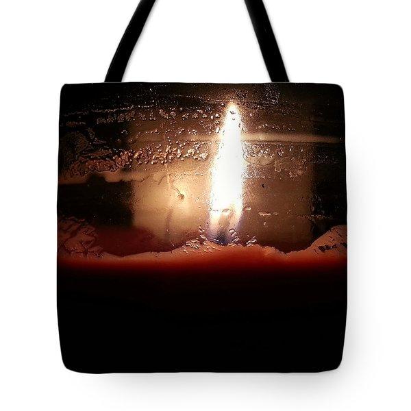 Romantic Candle Tote Bag