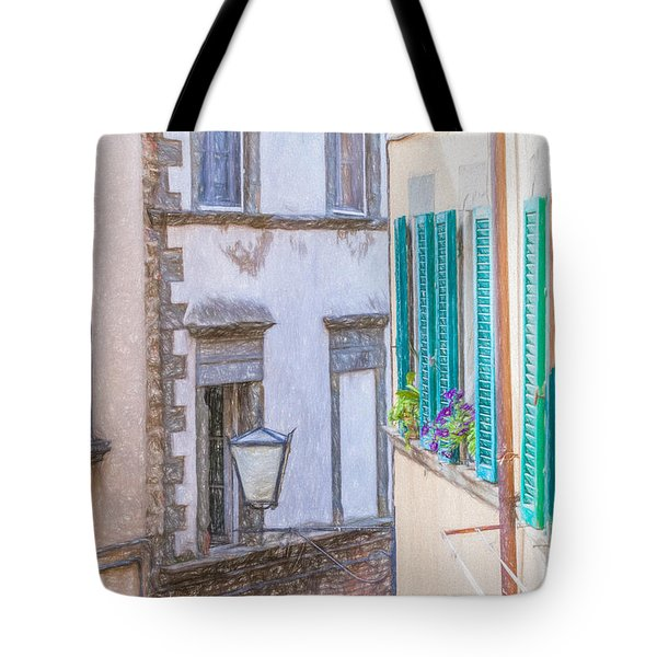 Romantic Cortona Tote Bag