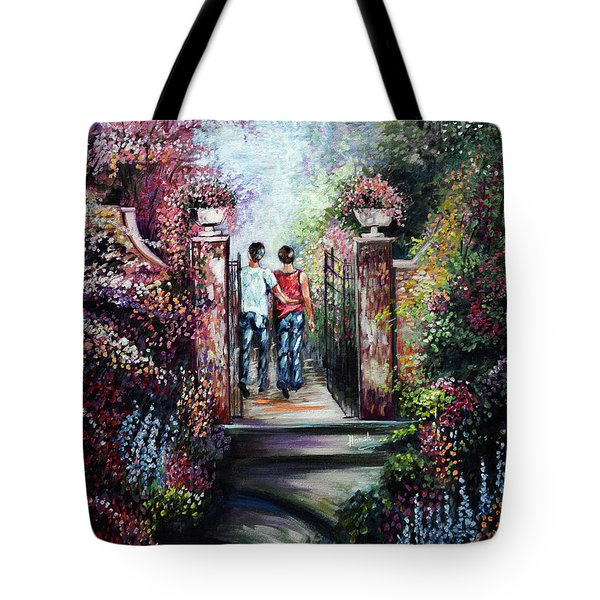 Romantic Landscape Tote Bag