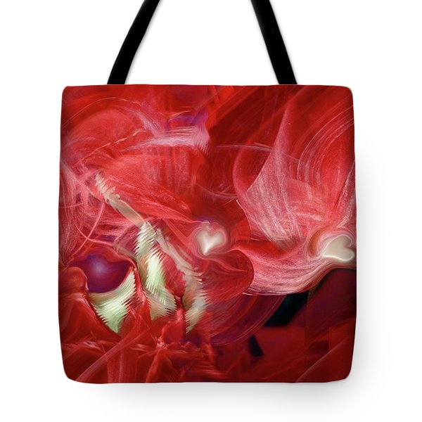 Romantic Love Tote Bag