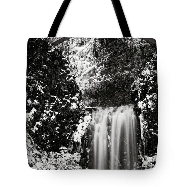 Romantic Moments At The Falls Tote Bag