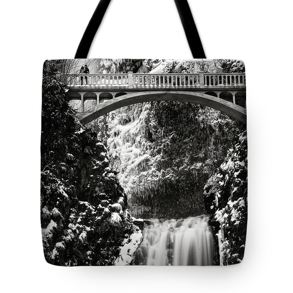 Romantic Moments At The Falls Tote Bag