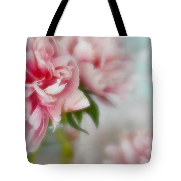 Tote Bag featuring the photograph Romantic Peonies 1 by Diane Alexander