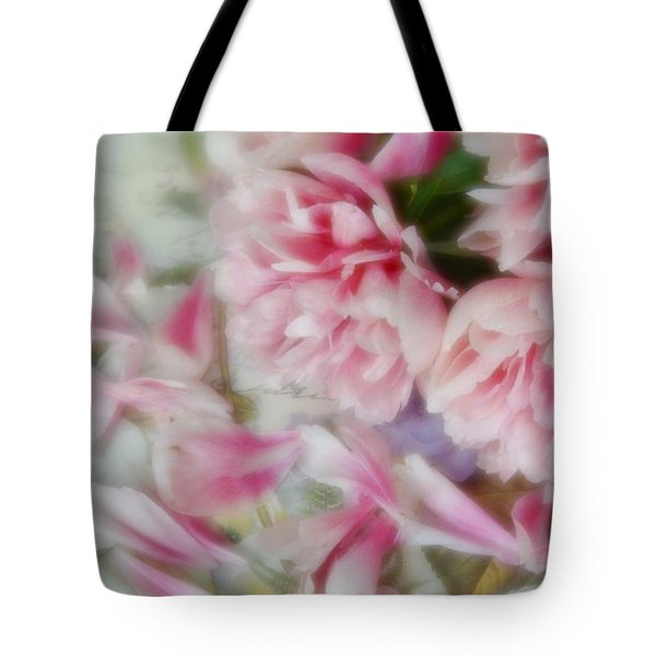 Tote Bag featuring the photograph Romantic Peonies 3 by Diane Alexander