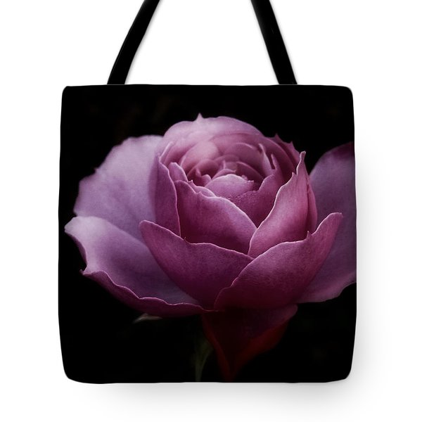 Romantic Pink December Rose Tote Bag