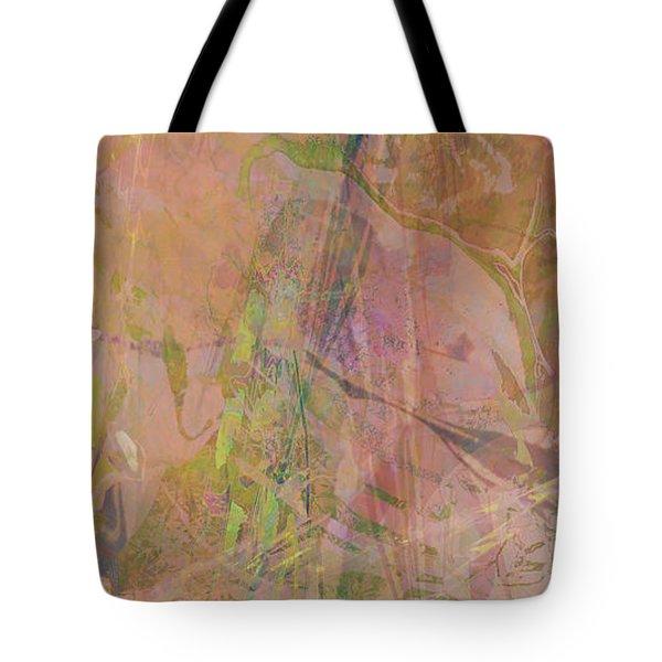 Romantic Rainbow Tote Bag