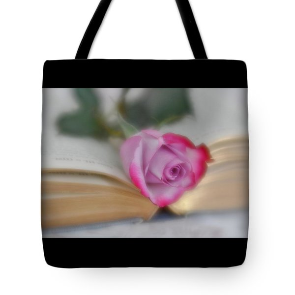 Tote Bag featuring the photograph Romantic Read by Diane Alexander