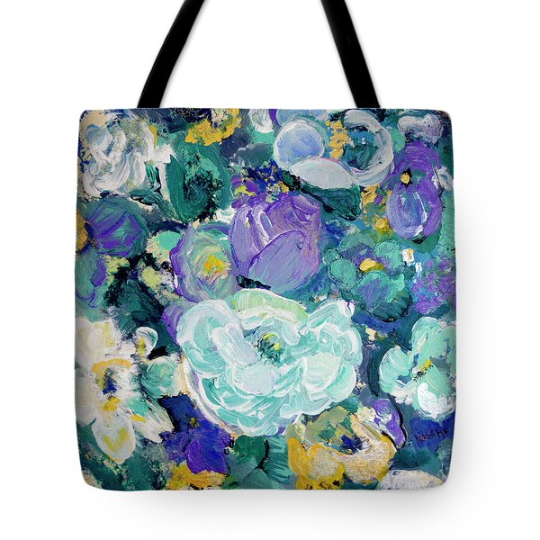 Romantic Rose Garden Tote Bag