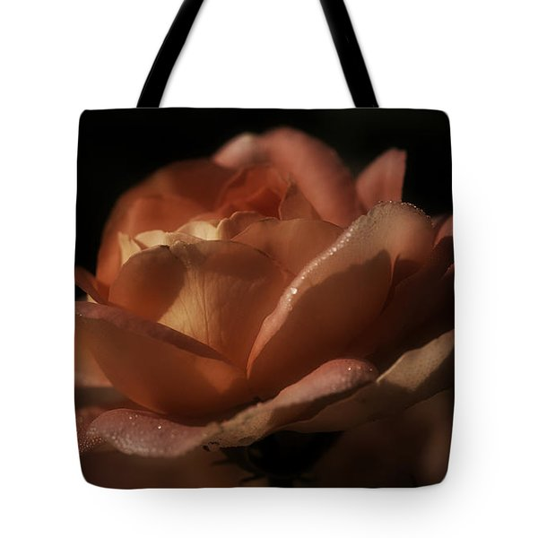 Romantic September Rose Tote Bag